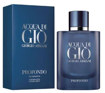 Picture of ACQUA DI GIO' GIORGIO ARMANI PROFONDO UOMO EDP 75 SPRAY