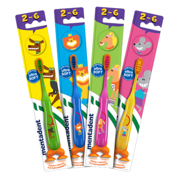 Picture of MENTADENT D/ GROWTH TOOTHBRUSH