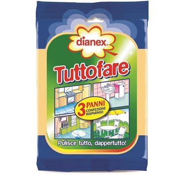 Immagine di DIANEX PANNO TUTTOFARE X 3 ART.11053