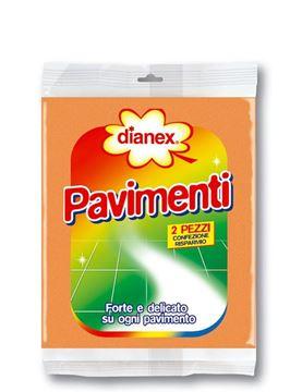 Immagine di DIANEX PANNO PAVIMENTI X 2 PZ ART.11002