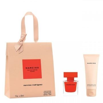 Picture of NARCISO RODRIGUEZ ROUGE EDP 30 + BL 75