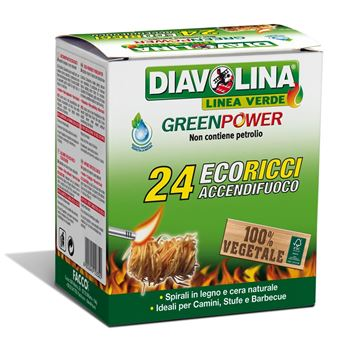 Picture of DIAVOLINA GREEN POWER ACCEND.X 24 RICCI