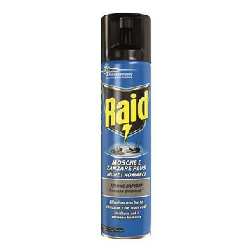 Immagine di RAID MOSCHE ZANZARE SPRAY 400 ML