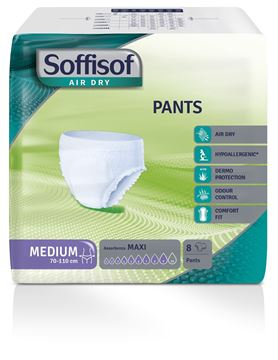 Picture of SOFFISOF AIR DRY PANTS MEDIO X 8 ASSORBENZA MAXI