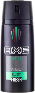 Picture of AXE DEODORANT SPRAY AFRICA ML.150         KK