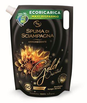 Picture of SPUMA DI SCIAMPAGNA AMMORBIDENTE ECORICARICA 60 LAVAGGI GOLD ORIENTAL