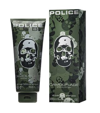 Picture of POLICE CAMOUFLAGE SH BAGNO 400 ML UOMO