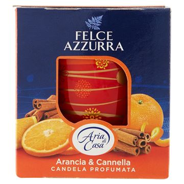Picture of FELCE AZZURRA SCENTED CANDLE ORANGE & CINNEMON G 120