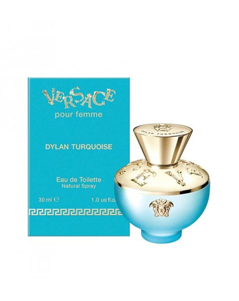 Picture of VERSACE DYLAN TURQUOISE EDT 30 SPR DONNA