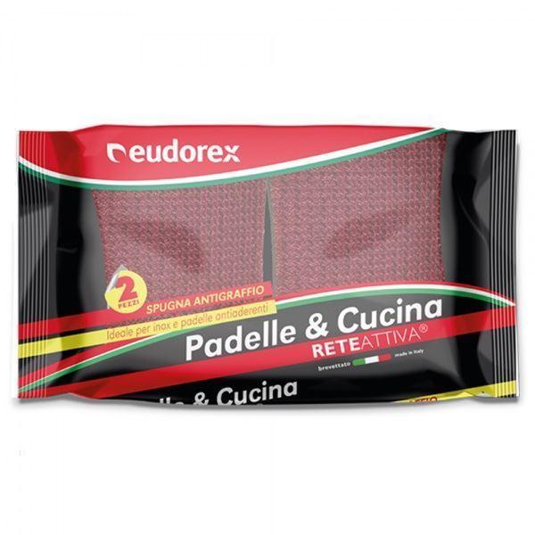 Picture of EUDOREX PADELLE & CUCINA SPUGNA ANTIGRAFFIO X 2