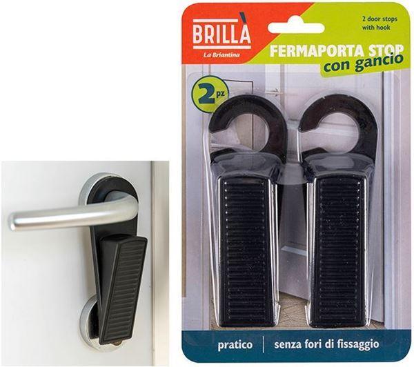 Picture of Brillà fermaporta stop con gancio x 2