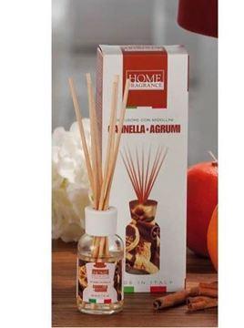 Picture of Diffusore con midollini cannella & agrumi 30 ml