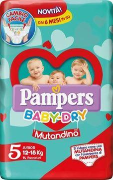 Picture of PAMPERS  MUTANDINO JUNIOR X 14