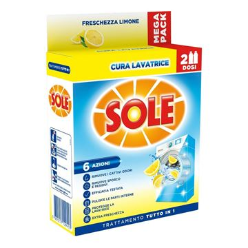Picture of SOLE CURA LAVATRICE LEMON ML 250 X 2