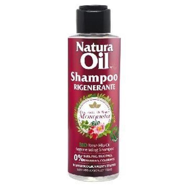 Picture of Natura Oil shampoo rigenerante bio rosa mosqueta 100 ml