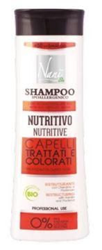 Immagine di Nanì bio shampoo nutritivo capelli trattati & colorati 300 ml