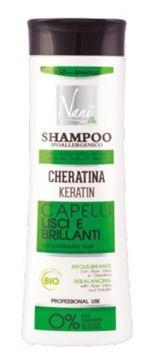 Immagine di Nanì bio shampoo cheratina capelli lisci & brillanti 300 ml
