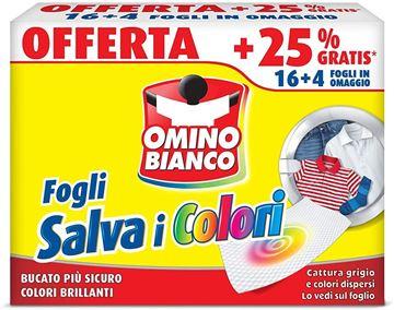 Picture of OMINO BIANCO SALVACOLORI 16+4 FOGLIETTI