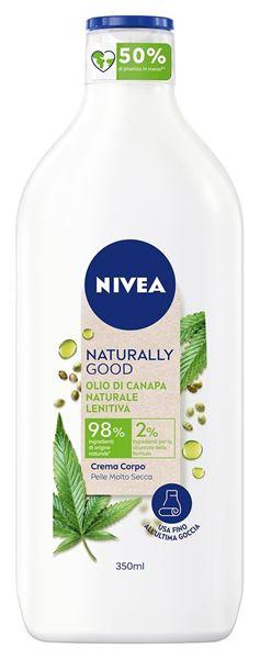 Picture of NIVEA NATURALLY GOOD CREMA CORPO 350 ML CANAPA 96825