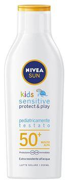 Picture of NIVEA SUN LATTE SOLARE KIDS SENSITIVE 50 + 200 ML