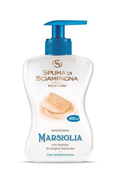 spuma sciampagna-sapone antibatterico