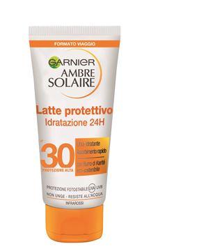garnier-ambre solaire-latte protettivo-idratazione 24h-30