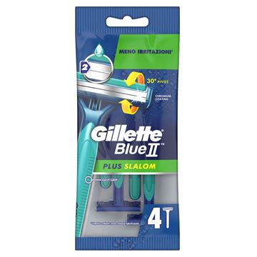 gillette-blu-ii-rasoi-slalom-plus-x-4